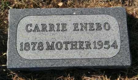 ENEBO, CARRIE - Lincoln County, South Dakota | CARRIE ENEBO - South Dakota Gravestone Photos