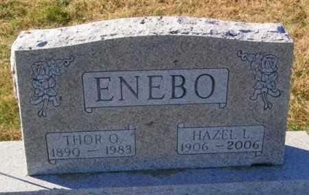 ENEBO, THOR O. - Lincoln County, South Dakota | THOR O. ENEBO - South Dakota Gravestone Photos
