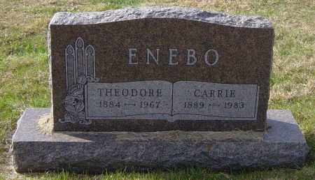 ENEBO, CARRIE - Lincoln County, South Dakota | CARRIE ENEBO - South Dakota Gravestone Photos
