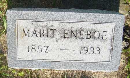 ENEBOE, MARIT - Lincoln County, South Dakota | MARIT ENEBOE - South Dakota Gravestone Photos