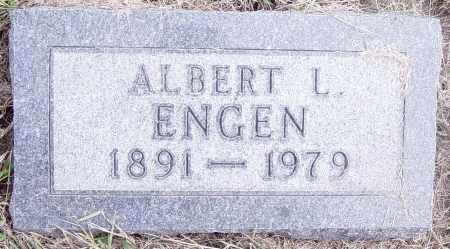 ENGEN, ALBERT - Lincoln County, South Dakota | ALBERT ENGEN - South Dakota Gravestone Photos