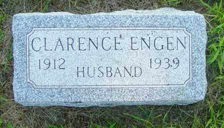 ENGEN, CLARENCE - Lincoln County, South Dakota | CLARENCE ENGEN - South Dakota Gravestone Photos