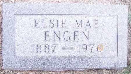ENGEN, ELSIE MAE - Lincoln County, South Dakota   ELSIE MAE ENGEN - South Dakota Gravestone Photos