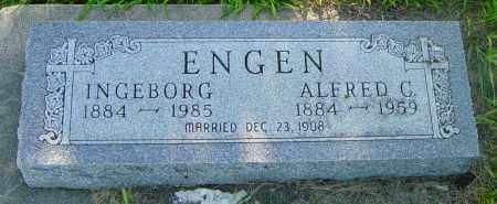 ENGEN, INGEBORG - Lincoln County, South Dakota | INGEBORG ENGEN - South Dakota Gravestone Photos
