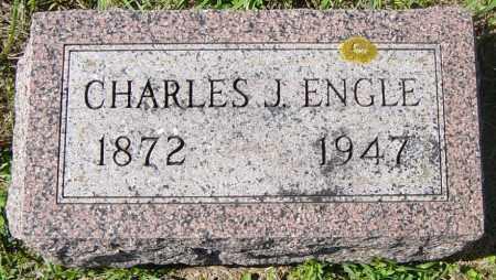ENGLE, CHARLES J - Lincoln County, South Dakota | CHARLES J ENGLE - South Dakota Gravestone Photos