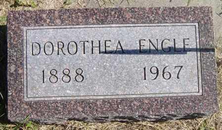 ENGLE, DOROTHEA - Lincoln County, South Dakota | DOROTHEA ENGLE - South Dakota Gravestone Photos