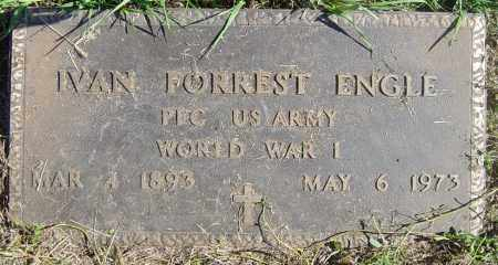 ENGLE, IVAN FORREST - Lincoln County, South Dakota | IVAN FORREST ENGLE - South Dakota Gravestone Photos