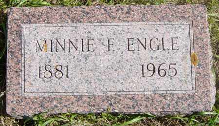 ENGLE, MINNIE F - Lincoln County, South Dakota | MINNIE F ENGLE - South Dakota Gravestone Photos