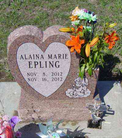 EPLING, ALAINA MARIE - Lincoln County, South Dakota   ALAINA MARIE EPLING - South Dakota Gravestone Photos