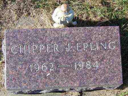 EPLING, CHIPPER J - Lincoln County, South Dakota | CHIPPER J EPLING - South Dakota Gravestone Photos