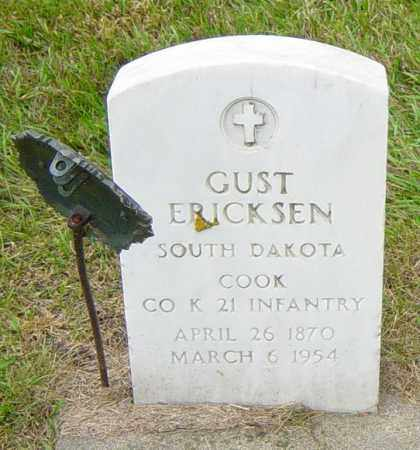 ERICKSEN, GUST - Lincoln County, South Dakota | GUST ERICKSEN - South Dakota Gravestone Photos
