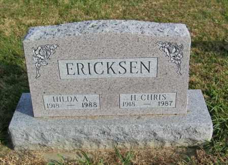 ERICKSEN, HILDA A. - Lincoln County, South Dakota | HILDA A. ERICKSEN - South Dakota Gravestone Photos