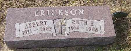 ERICKSON, RUTH E - Lincoln County, South Dakota | RUTH E ERICKSON - South Dakota Gravestone Photos