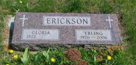 ERICKSON, ERLING - Lincoln County, South Dakota | ERLING ERICKSON - South Dakota Gravestone Photos