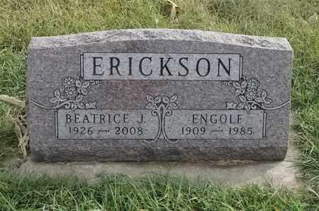 ERICKSON, BEATRICE J - Lincoln County, South Dakota | BEATRICE J ERICKSON - South Dakota Gravestone Photos