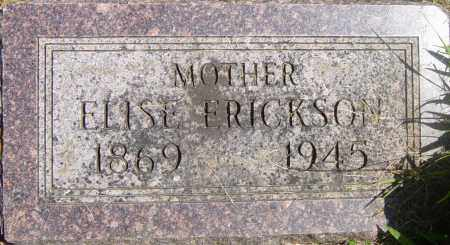 ERICKSON, ELISE - Lincoln County, South Dakota | ELISE ERICKSON - South Dakota Gravestone Photos