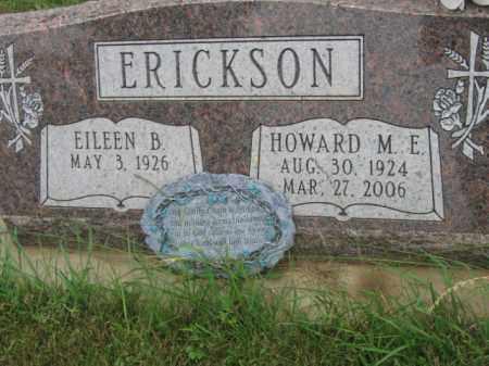 ERICKSON, HOWRD M E - Lincoln County, South Dakota | HOWRD M E ERICKSON - South Dakota Gravestone Photos