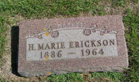 ERICKSON, H. MARIE - Lincoln County, South Dakota | H. MARIE ERICKSON - South Dakota Gravestone Photos