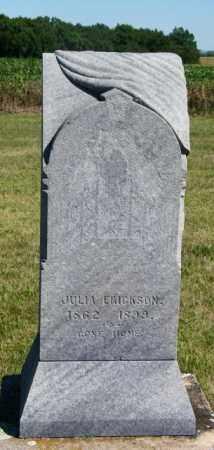ERICKSON, JULIA - Lincoln County, South Dakota   JULIA ERICKSON - South Dakota Gravestone Photos