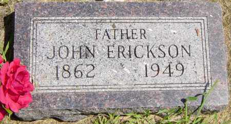 ERICKSON, JOHN - Lincoln County, South Dakota | JOHN ERICKSON - South Dakota Gravestone Photos