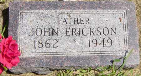 ERICKSON, JOHN - Lincoln County, South Dakota | JOHN ERICKSON - South Dakota Gravestone Photos