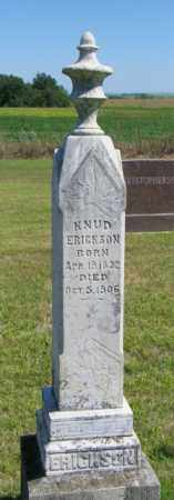 ERICKSON, KNUD - Lincoln County, South Dakota | KNUD ERICKSON - South Dakota Gravestone Photos