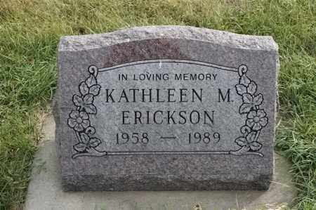 ERICKSON, KATHLEEN M - Lincoln County, South Dakota | KATHLEEN M ERICKSON - South Dakota Gravestone Photos