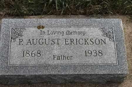 ERICKSON, P AUGUST - Lincoln County, South Dakota | P AUGUST ERICKSON - South Dakota Gravestone Photos