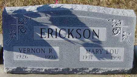 ERICKSON, VERNON R - Lincoln County, South Dakota | VERNON R ERICKSON - South Dakota Gravestone Photos