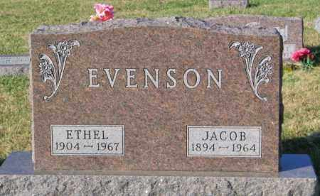 EVENSON, JACOB - Lincoln County, South Dakota | JACOB EVENSON - South Dakota Gravestone Photos