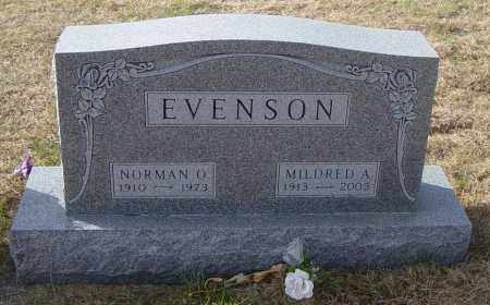EVENSON, MILDRED A - Lincoln County, South Dakota | MILDRED A EVENSON - South Dakota Gravestone Photos