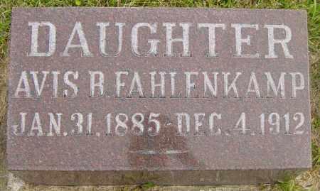 FAHLENKAMP, AVIS B - Lincoln County, South Dakota   AVIS B FAHLENKAMP - South Dakota Gravestone Photos