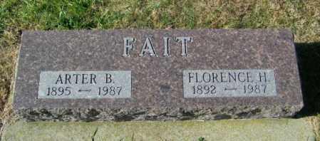 FAIT, FLORENCE H - Lincoln County, South Dakota | FLORENCE H FAIT - South Dakota Gravestone Photos