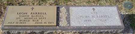 FARRELL, PALMA H - Lincoln County, South Dakota | PALMA H FARRELL - South Dakota Gravestone Photos