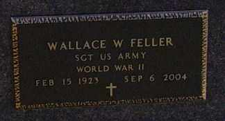 FELLER MILITARY, WALLACE W - Lincoln County, South Dakota   WALLACE W FELLER MILITARY - South Dakota Gravestone Photos
