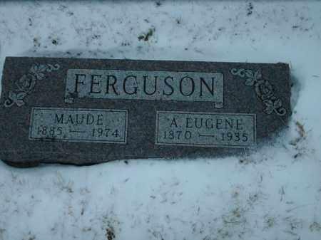 FERGUSON, MAUDE - Lincoln County, South Dakota | MAUDE FERGUSON - South Dakota Gravestone Photos