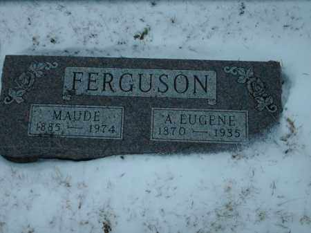 FERGUSON, MAUDE - Lincoln County, South Dakota | MAUDE FERGUSON - South Dakota Gravestone Photos