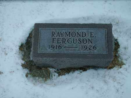 FERGUSON, RAYMOND E - Lincoln County, South Dakota | RAYMOND E FERGUSON - South Dakota Gravestone Photos