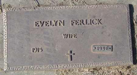 FERLICK, EVELYN - Lincoln County, South Dakota | EVELYN FERLICK - South Dakota Gravestone Photos