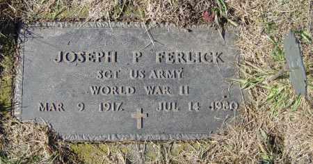 FERLICK, JOSEPH P - Lincoln County, South Dakota | JOSEPH P FERLICK - South Dakota Gravestone Photos