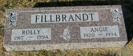 FILLBRANDT, ROLLY - Lincoln County, South Dakota | ROLLY FILLBRANDT - South Dakota Gravestone Photos