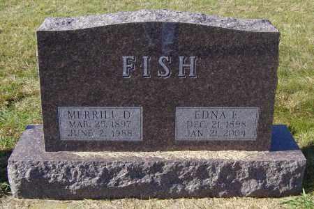 FISH, MERRILL D - Lincoln County, South Dakota   MERRILL D FISH - South Dakota Gravestone Photos