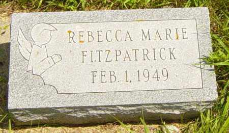 FITZPATRICK, REBECCA MARIE - Lincoln County, South Dakota | REBECCA MARIE FITZPATRICK - South Dakota Gravestone Photos