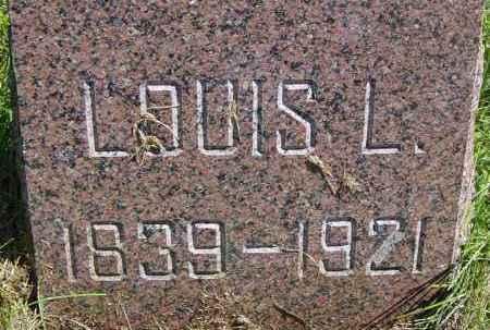 FLORY, LOUIS L - Lincoln County, South Dakota | LOUIS L FLORY - South Dakota Gravestone Photos