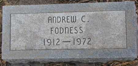 FODNESS, ANDREW C. - Lincoln County, South Dakota | ANDREW C. FODNESS - South Dakota Gravestone Photos