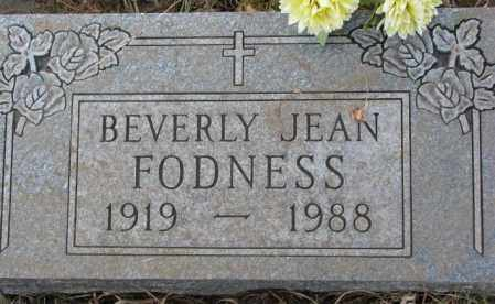 FODNESS, BEVERY JEAN - Lincoln County, South Dakota | BEVERY JEAN FODNESS - South Dakota Gravestone Photos