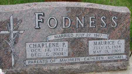 FODNESS, MAURICE CARL - Lincoln County, South Dakota | MAURICE CARL FODNESS - South Dakota Gravestone Photos