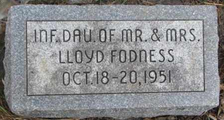 FODNESS, LAURETTE ALICE - Lincoln County, South Dakota | LAURETTE ALICE FODNESS - South Dakota Gravestone Photos