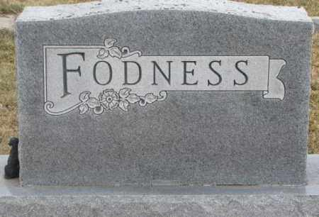 FODNESS, PLOT - Lincoln County, South Dakota | PLOT FODNESS - South Dakota Gravestone Photos