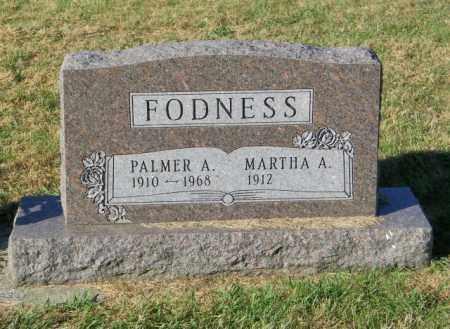 FODNESS, MARTHA A. - Lincoln County, South Dakota | MARTHA A. FODNESS - South Dakota Gravestone Photos